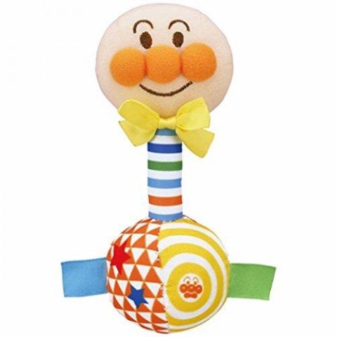 要出典 赤ちゃんが喜ぶおもちゃ バンダイ べビラボ アンパンマン らくらくにぎれる はじめてラトル