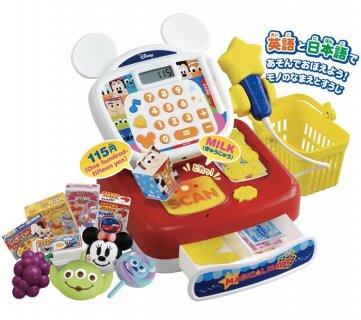 要出典 ディズニーおもちゃ ディズニー マジカルマート 英語と日本語!スキャンでおしゃべり ドリームレジスター