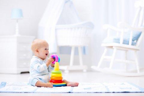 赤ちゃん ベビーマット 遊ぶ プレイマット