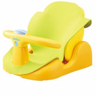 要出典 赤ちゃんのお風呂グッズ アップリカ バスチェア はじめてのお風呂から使えるバスチェア