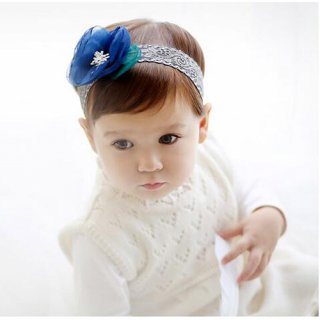 要出典 赤ちゃん 女の子 ヘアアクセサリー ベビー フラワー ヘアバンド