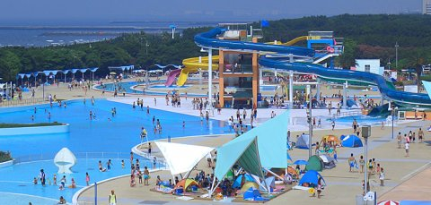 要出典 千葉県のプール 稲毛海浜公園プール(千葉県千葉市)