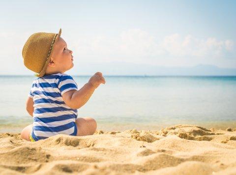 赤ちゃん 夏 服装