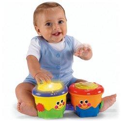 要出典 1歳児のおもちゃ フィッシャープライス おいかけて!ボンゴボンゴ