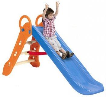 要出典 1歳児のおもちゃ happiness 折りたたみできるすべり台