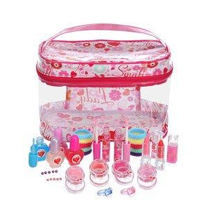 要出典 6歳 女の子 誕生日プレゼントレイス スモールレディ ビニールバニティ メイクボックス