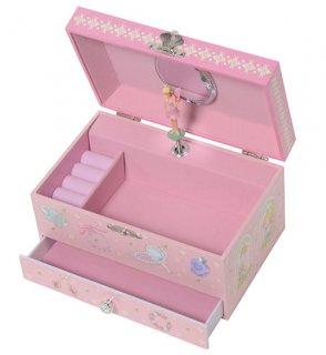 要出典 6歳 女の子 誕生日プレゼント リリーアンドアリー プリンセス オルゴール付き キッズジュエリーボックス