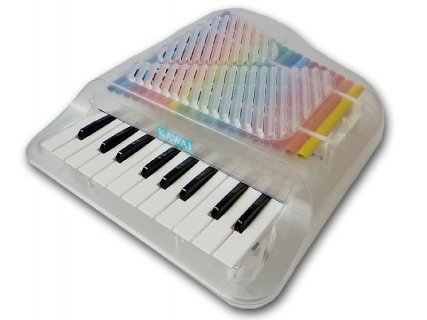 要出典 ピアノのおもちゃ KAWAI クリスタルミニピアノ