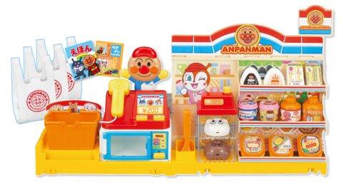 要出典 レジスターのおもちゃ おべんとうあたためますか?アンパンマンコンビニ