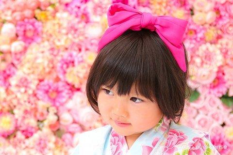 浴衣 女の子 子供 ヘアアレンジ カチューシャ
