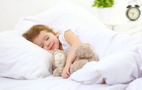 子供 寝る ベッド 布団 ぬいぐるみ