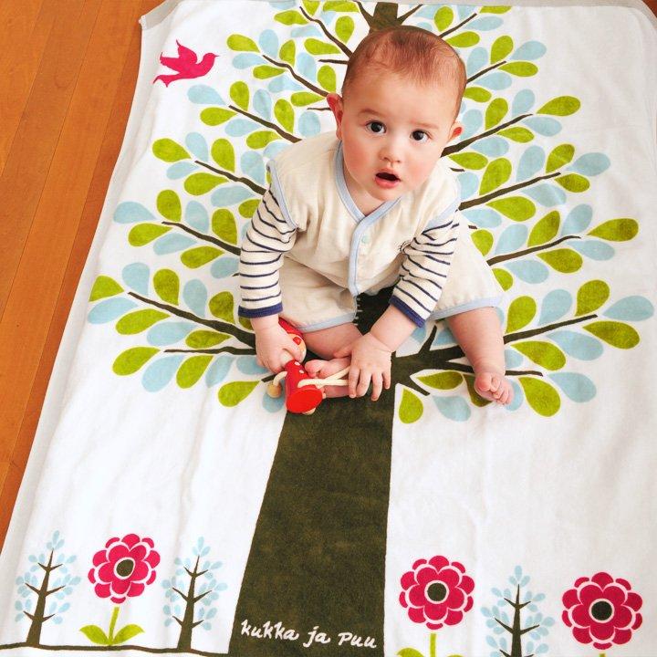 要出典 女の子の出産祝い クッカヤプー 身長計付き タオルケット