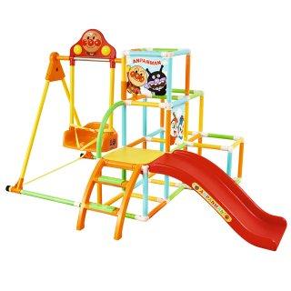 要出典 2歳の男の子の誕生日 アガツマ アンパンマン うちの子天才 カンタン折りたたみブランコパークDX