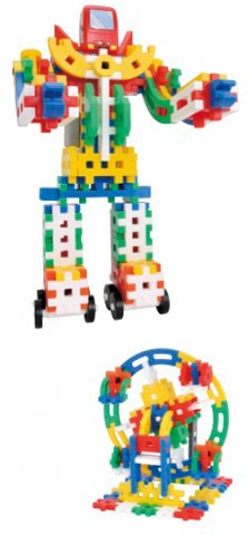 要出典 2歳の男の子の誕生日プレゼント 学研ステイフル ニューブロック たっぷりセット