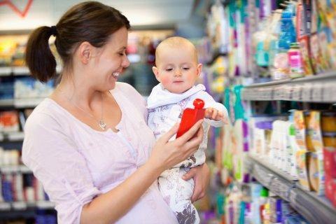赤ちゃん ママ 買い物 スーパー 薬局