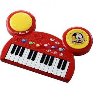要出典 子供用キーボード おもちゃ タカラトミー ディズニーキャラクターズ ディスクでチェンジ!キーボードドラム