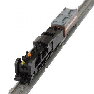 要出典 ナノブロック ナノゲージ トレインコレクション 蒸気機関車 テンダー式