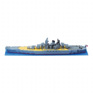 要出典 カワダ ナノブロック 日本海軍 戦艦 大和
