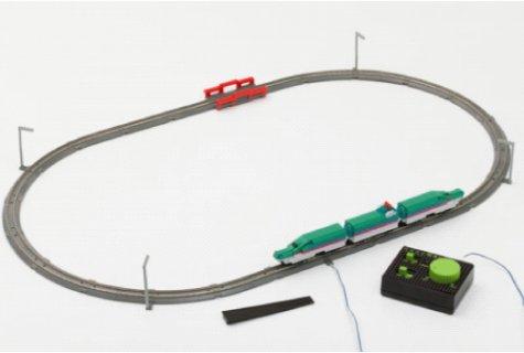 要出典 カワダ ナノブロック ナノゲージ トレインコレクション ベーシックフルセット E5系新幹線はやぶさ