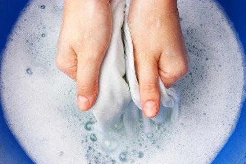 洗濯 手洗い 泥汚れ