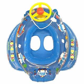 要出典 赤ちゃん 子供 浮き輪 永和 ミニカーボート 足入れ浮き輪