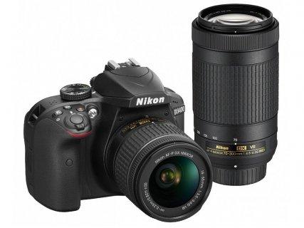 一眼レフカメラ ニコン デジタル一眼レフカメラ D3400 ダブルズームキット