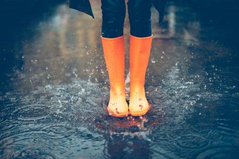 女性 雨 レインブーツ