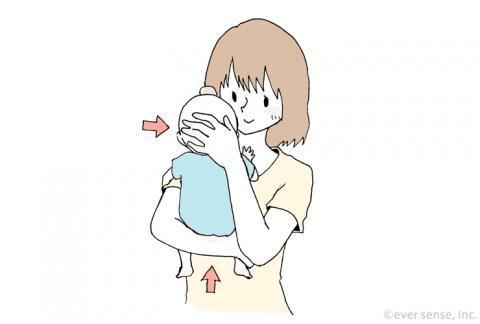 赤ちゃん 抱っこの仕方01