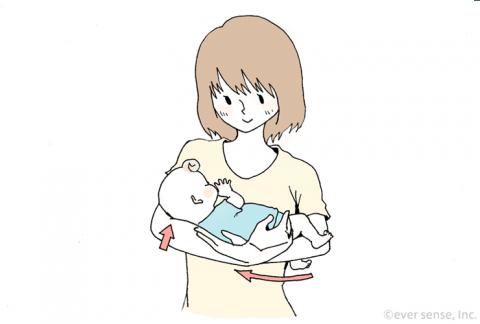赤ちゃん 抱っこの仕方02