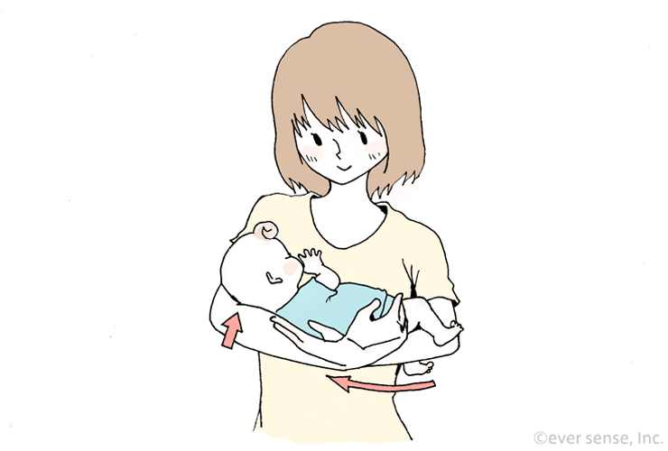 抱っこ すわり 前 紐 首 新生児