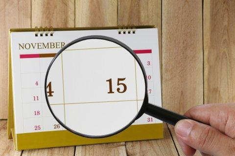 11月15日 七五三 カレンダー