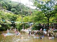 要出典 じゃぶじゃぶ池 岩屋堂公園 天然プール 愛知県瀬戸市