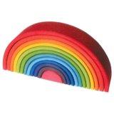 要出典 ドイツのおもちゃ グリムス社 アーチレインボー 虹色トンネル特大