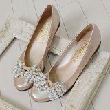 要出典 結婚式靴 キラキラ レディース 2way ローヒール