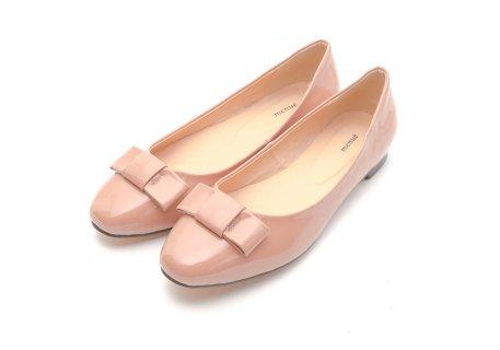 要出典 結婚式靴 メヌエ メヌエ レディース シンプル リボン ローヒール パンプス