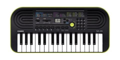 要出典 子供用キーボード カシオ 電子ミニキーボード 32ミニ鍵盤 SA-46