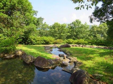 要出典 じゃぶじゃぶ池 大分農業文化公園 大分県杵築市