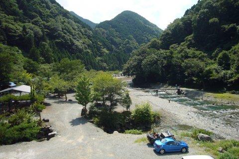 要出典 川遊び 神之川 神之川キャンプ場 神奈川県相模原市