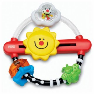 要出典 フィッシャープライスのおもちゃ フィッシャープライス おひさま指遊びリング