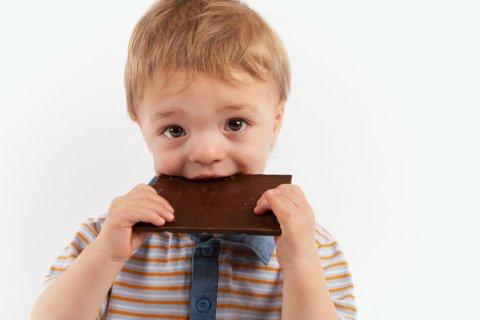 子供 チョコレート