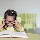 子供 本 読書 眼鏡 勉強