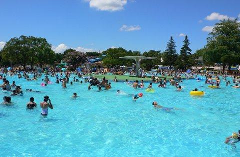 立川市プール 国営昭和記念公園レインボープール