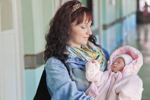 新生児 ママ 退院 病院 赤ちゃん