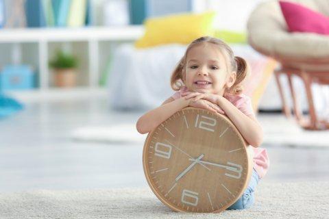 子供 時計 時間