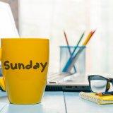 日曜日 仕事