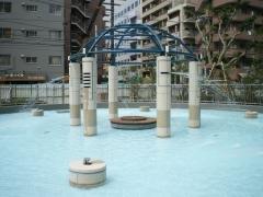 要出典 9月 じゃぶじゃぶ池 月島 勝どき 月島第二児童公園(東京都中央区)