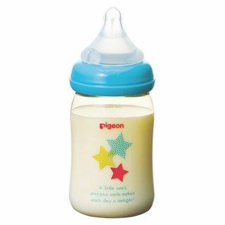 要出典 ピジョン 哺乳瓶 母乳実感 哺乳瓶 プラスチック製 アニマル柄 160ml