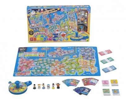 要出典 ボードゲーム 子供 どこでもドラえもん日本旅行ゲーム5 / エポック社