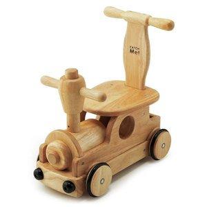 要出典 乗用玩具 木's 乗用ポッポ