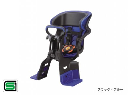 要出典 自転車 チャイルドシート  OGK ヘッドレスト付コンフォート 前子供のせ FBC-011DX3